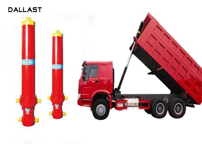 Telescopic Multi Stage Hydraulic Cylinder Single Acting Dump Truck Hydraulic Oil Cylinder